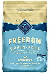 Roll over image to zoom in Blue Buffalo Freedom Puppy Chicken Recipe Grain-Free Dry Dog Food, slide 1 of 9 Slide 2 of 9 Slide 3 of 9 Slide 4 of 9 Slide 5 of 9 Slide 6 of 9 Slide 7 of 9 Slide 8 of 9 video, Slide 9 of 9video PrevNext Blue Buffalo Freedom Puppy Chicken Recipe