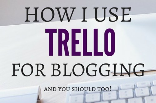 Trello for blogging