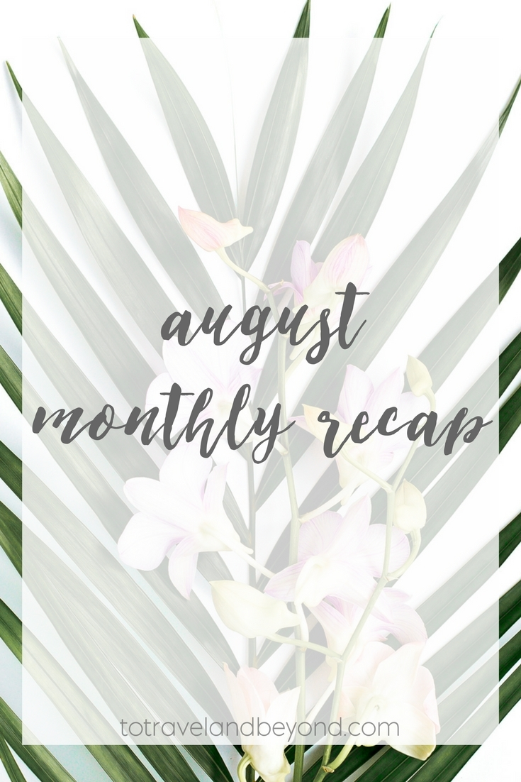 August Is Over Monthly Link-Up