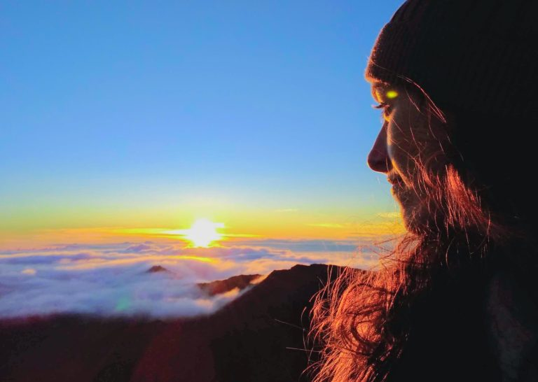 Ellen at Haleakala Sunrise scaled - Traveling to Maui during COVID may not be what you expect!