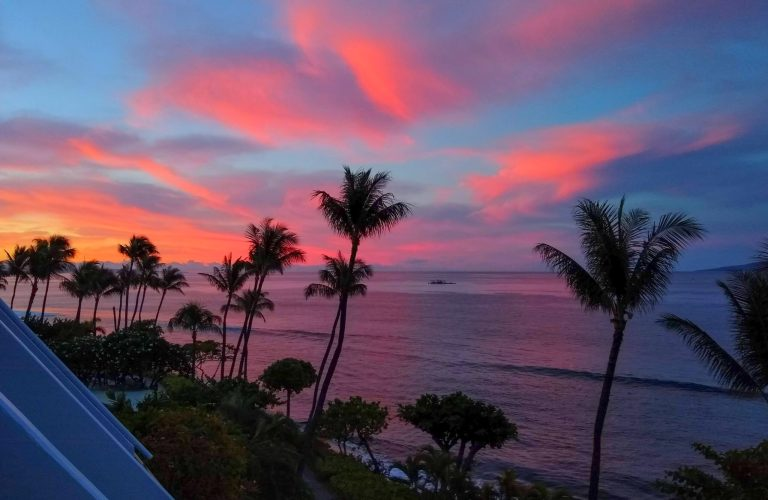 Maui Sunrise from Lanai 1 scaled - Traveling to Maui during COVID may not be what you expect!