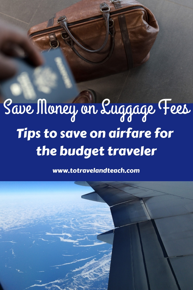 Tips to save on airfare for the budget traveler