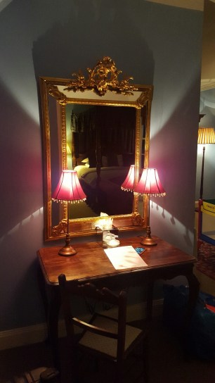 My dressing table in the Kilchurn