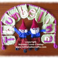 Thumbelina Loom - How to weave Gnomes