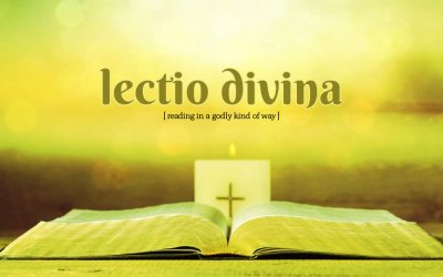 View from the Vicarage – Lectio Divina