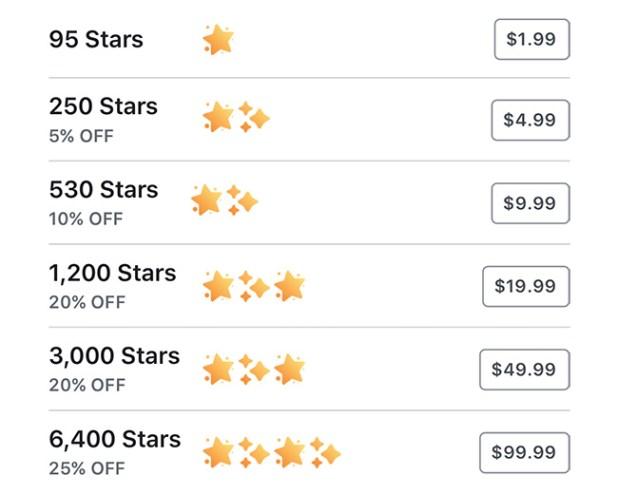 نجوم فيسبوك ماهي وما طريقة استخدامها