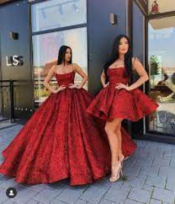 Beautiful Lia Stublla gown! View more beautiful gowns by browsing Pageant  Planet's dress gallery! #prom #pa… | Red quinceanera dresses, Quince  dresses, Ball dresses