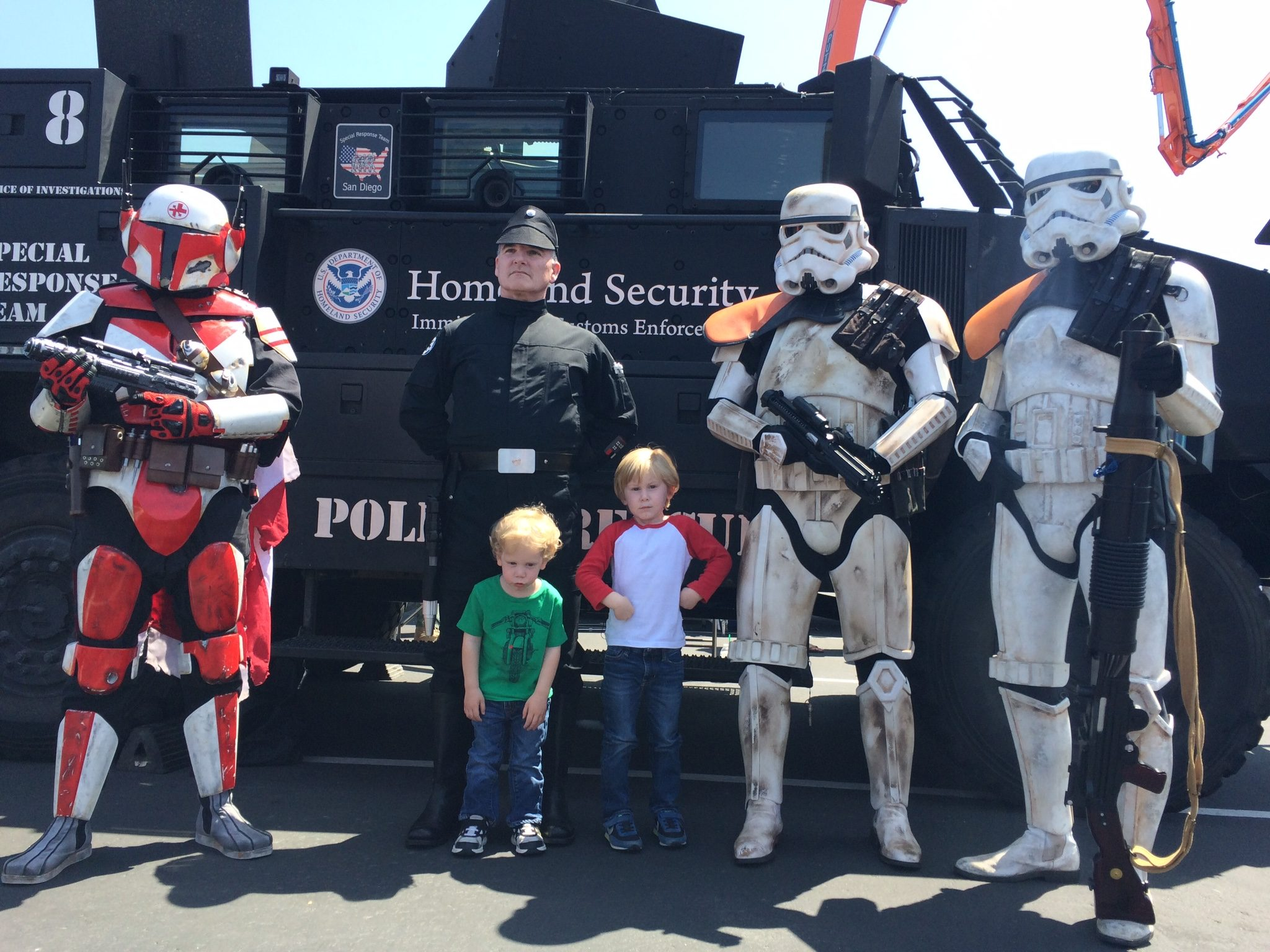 Galactic Security meets Homeland Security