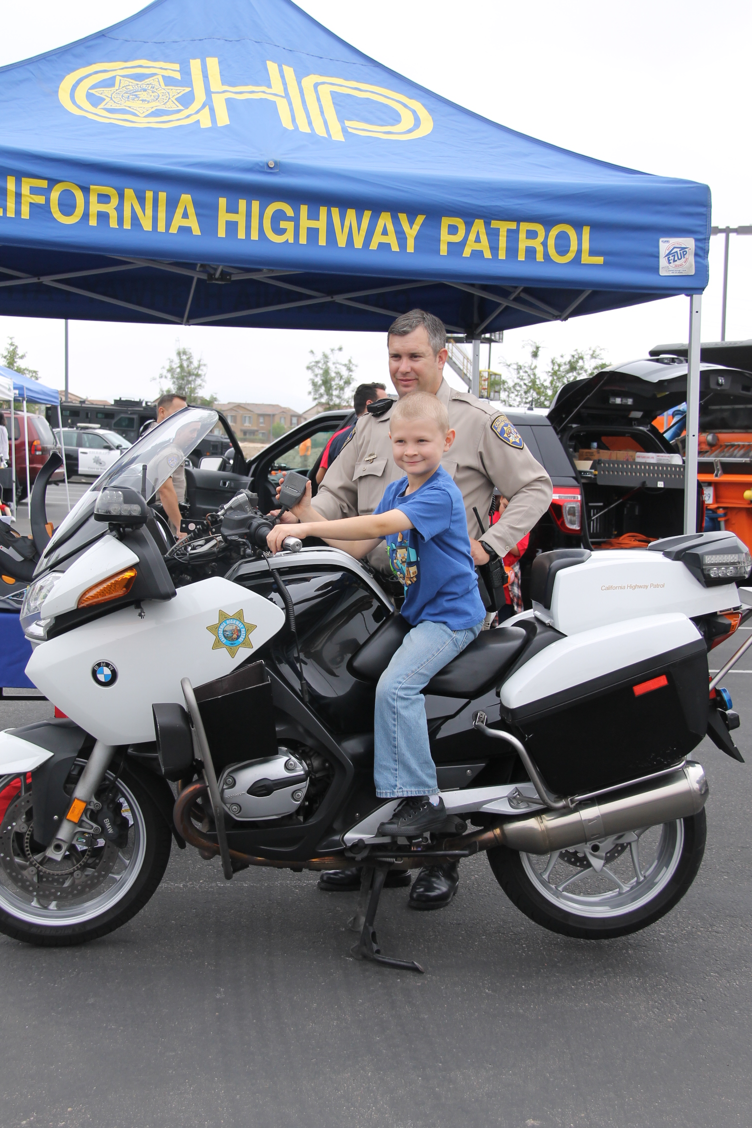 CHP motorcycle