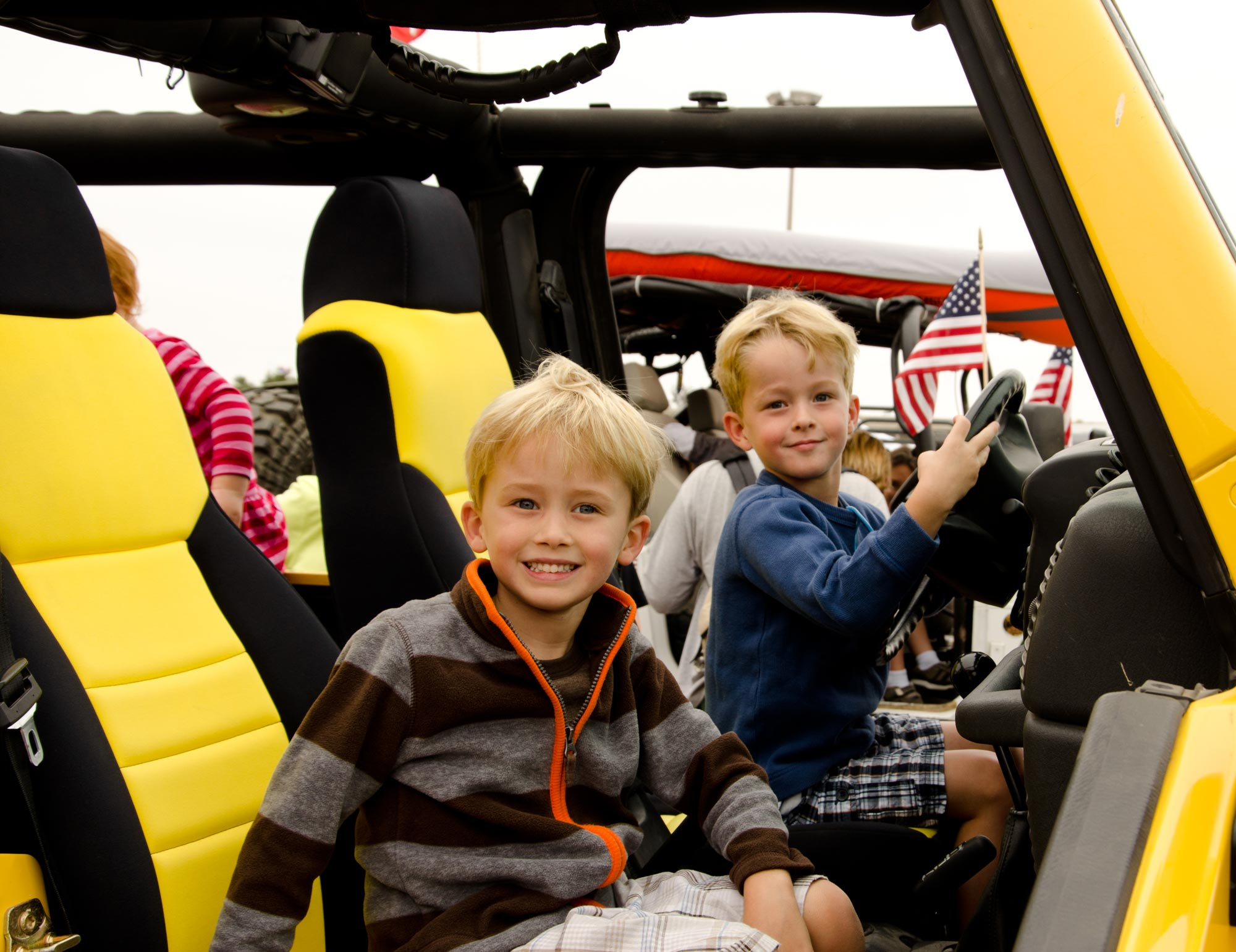 Touch A Truck San Diego started seven years ago with a vision to give kids the opportunity to sit in the driver's seats of vehicles big and small.