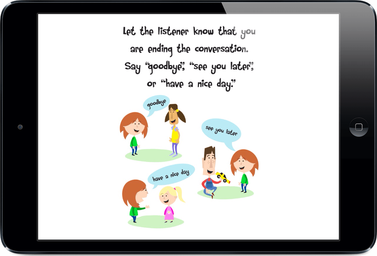Social Stories For Teaching Conversation Skills To