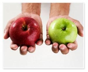 apples comparison