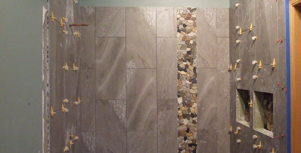 Shower wall tile installation step by step | TOUCHDOWN TILE