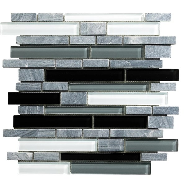 Synergy glass and stone mosaic tile mix DC0022