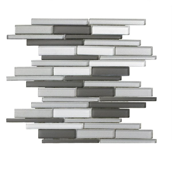 Synergy glass linear mix gray DC0018