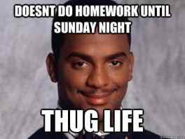 thug life el carlton
