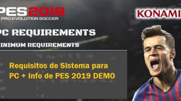 requisitos de pes 2019 para pc