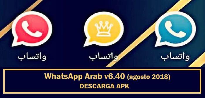 descargar whatsapp arab apk