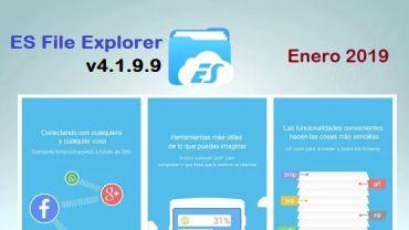 descargar es file explorer apk 4.1.9.9