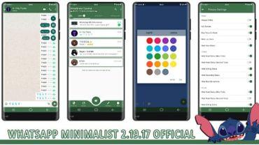 descargar whatsapp minimalista apk