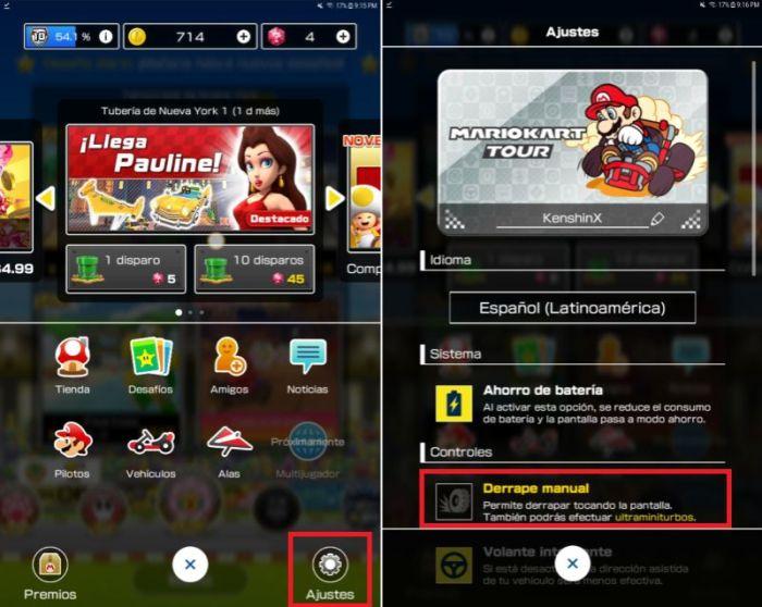 Mario Kart Tour para Android y iOS: Descarga v1.1.0 10