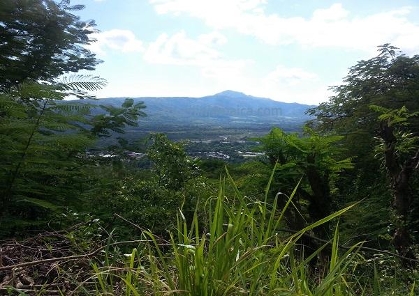 Panorama bei Bath St.Thomas Jamaika