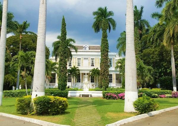 Die George Stiebel Villa in Kingston auf Jamaika ist als Devon House bekannt.
