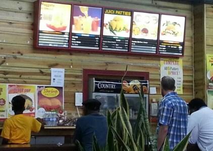 Jamaikanisches Fastfood