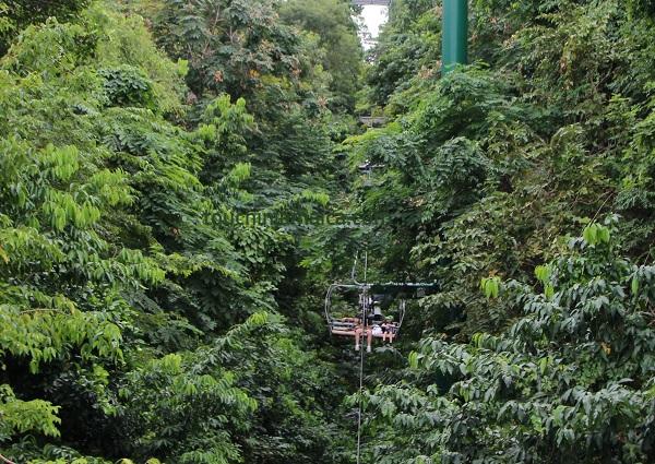 Mystic Mountain Jamaika Seilbahn