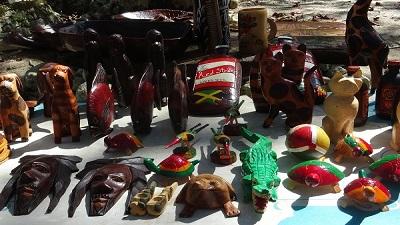 Holzschnitzereien Jamaika