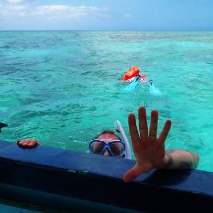 Schnorcheln Booby Cay