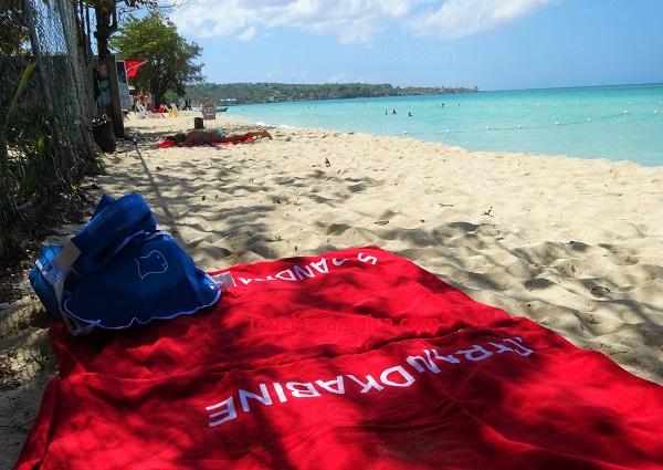 Strandkabine auf Jamaika