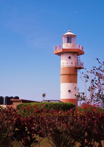Leuchtturm von Lovers Leap auf Jamaika