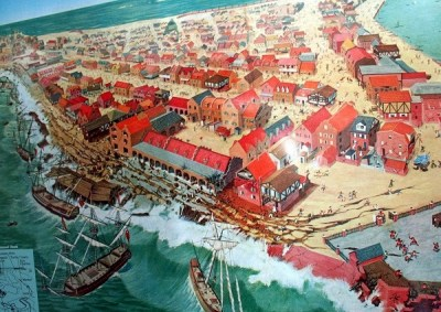 Robert W. Nicholson - Destruction of Port Royal 1692