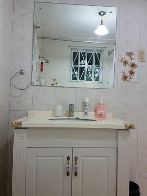Das königliche Badezimmer.