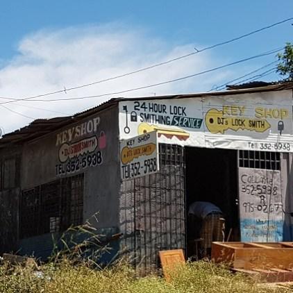 Schlüsseldienst auf Jamaikanisch