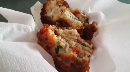 Jamaikanische Saltfish Fritters - saftig und lecker!