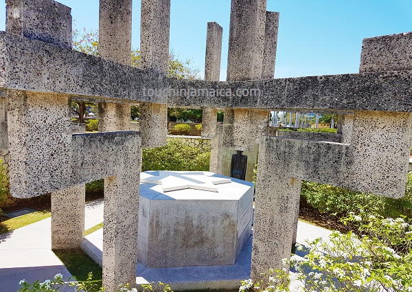Norman-Manley-Monument in National-Heroes-Park Kingston