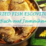 Jamaikanischer Bratfisch mit scharfer Essigmarinade