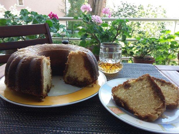 Jamaikanischer Rumkuchen