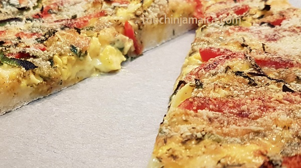 Rezept für Jamaikanische Ackee Pizza