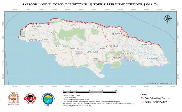 Nordküste Jamaika Resilient-Corridor