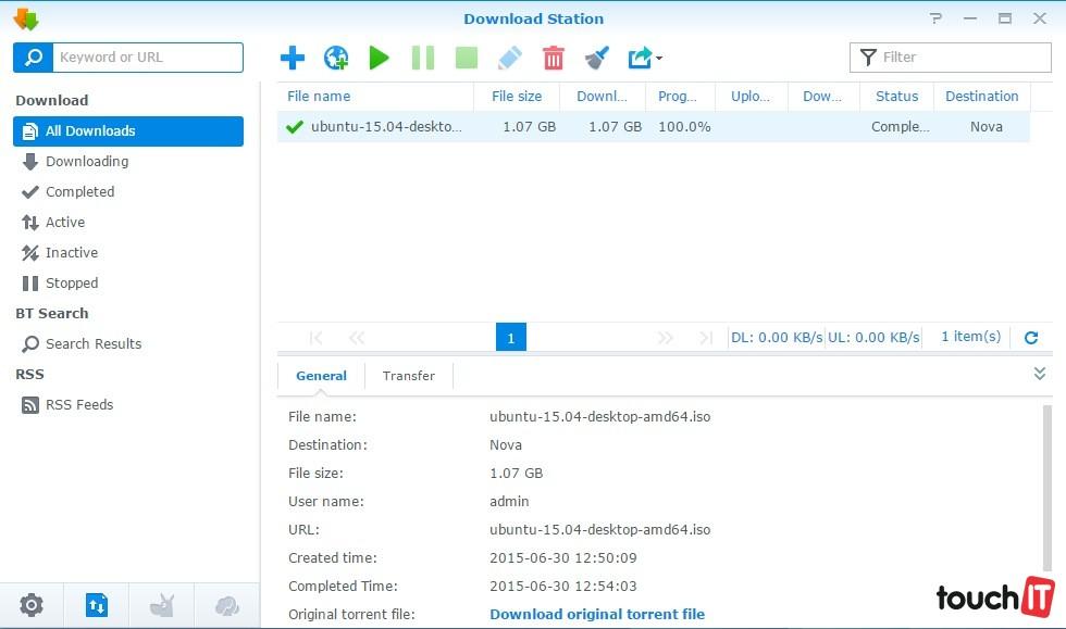 a99846fd4 Výber monitorovaných oblastí je na používateľovi. Okrem stavu disku,  vyťaženosti siete, CPU a RAM môžete sledovať počet pripojených používateľov.