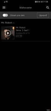 HBO GO offline režim