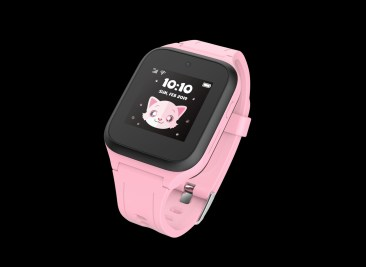 MOVETIME Family Watch MT40_Pink_Front _Left Angled_nowat