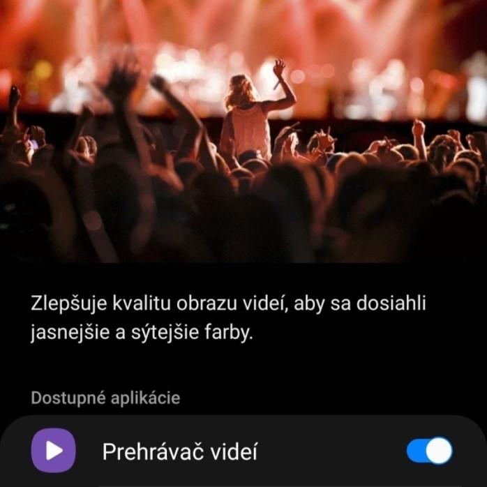 Samsung Vylepšenie videí