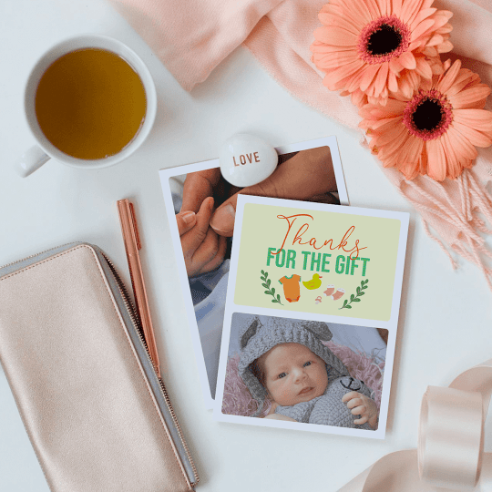 TouchNote Baby Shower Photo Cards