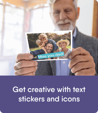 Text stickers