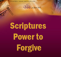 Power to Forgive Scriptures
