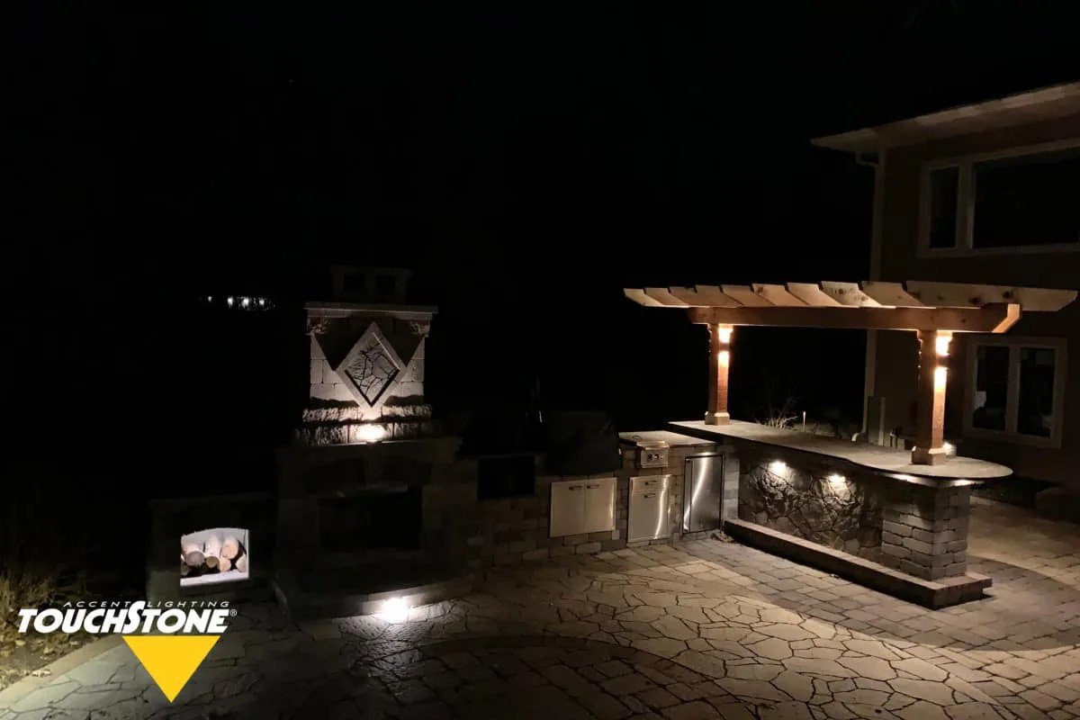 outdoor kitchen lighting led low
